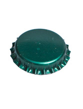 dark green bottle cap