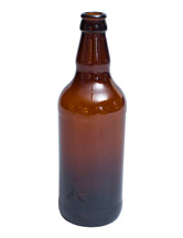 500ml amber glass bottle